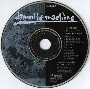 Damn The Machine: Damn The Machine (CD) - Bild 4