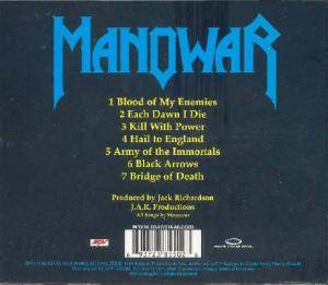 Manowar: Hail To England (CD) - Bild 3
