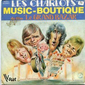 Cover - Les Charlots: Music-Boutique