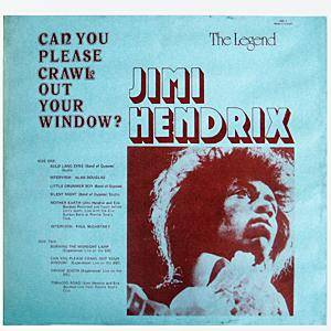 Jimi Hendrix Can You Please Crawl Out Your Window Lp 1971 Bootleg