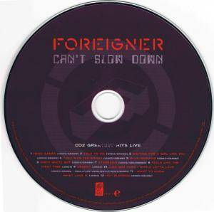 Foreigner: Can't Slow Down (2-CD + DVD) - Bild 8