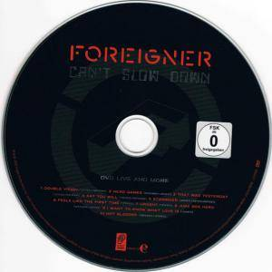 Foreigner: Can't Slow Down (2-CD + DVD) - Bild 9