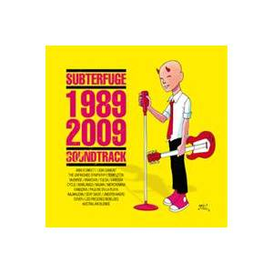 Cover - Pauline en la Playa: Subterfuge1989-2009 Soundtrack