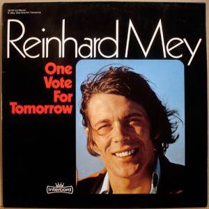 Cover - Reinhard Mey: One Vote For Tomorrow