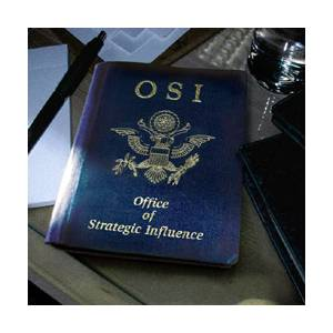 OSI: Office Of Strategic Influence - Cover