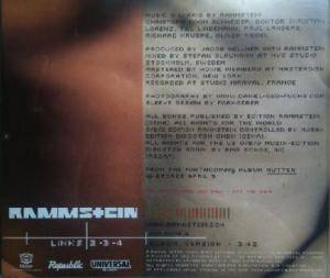 Rammstein: Links 2-3-4 (Promo-Single-CD) - Bild 3