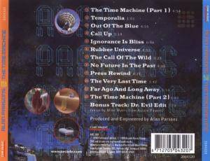 Alan Parsons: The Time Machine (CD) - Bild 2