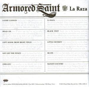 Armored Saint: La Raza (CD) - Bild 7