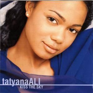 Tatyana Ali: Kiss The Sky - Cover