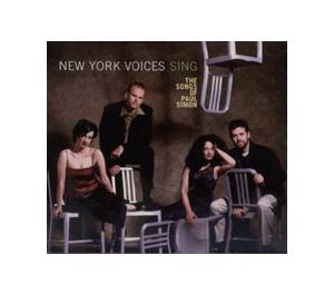 Cover - New York Voices: New York Voices Sing The Songs Of Paul Simon