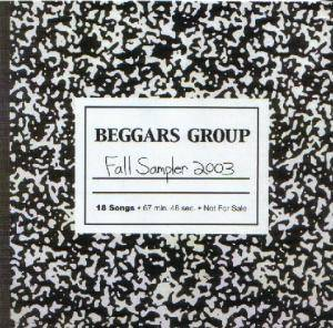 Cover - Electrelane: Beggars Group - Fall Sampler 2003