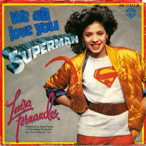Cover - Luisa Fernandez: We All Love You Superman