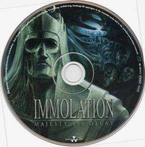 Immolation: Majesty And Decay (CD) - Bild 3