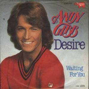 Cover - Andy Gibb: Desire