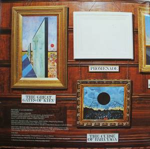 Emerson, Lake & Palmer: Pictures At An Exhibition (LP) - Bild 2