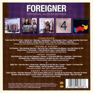Foreigner: Original Album Series (5-CD) - Bild 7