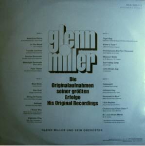 Glenn Miller Die Originalaufnahmen Seiner Größten Erfolge - His Original Recordings
