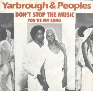 Cover - Yarbrough & Peoples: Don't Stop The Music