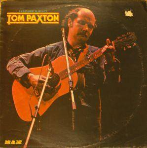 Cover - Tom Paxton: Something In My Life