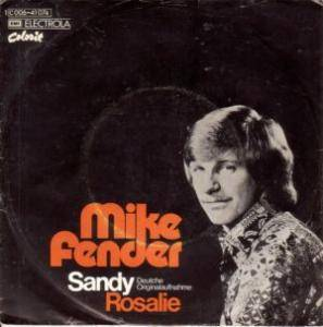 Cover - Mike Fender: Sandy