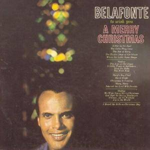 Harry Belafonte: To Wish You A Merry Christmas - Cover