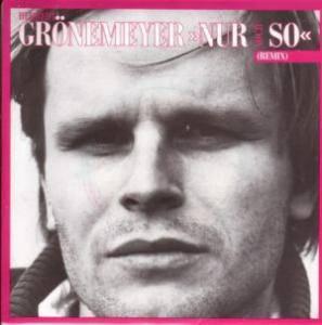 Herbert Grönemeyer: Nur Noch So - Cover