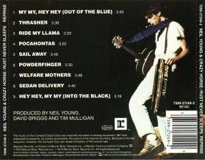 Neil Young & Crazy Horse: Rust Never Sleeps (CD) - Bild 2