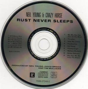 Neil Young & Crazy Horse: Rust Never Sleeps (CD) - Bild 3