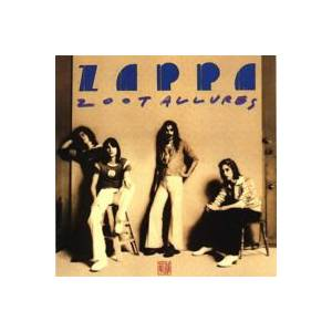 Frank Zappa: Zoot Allures - Cover