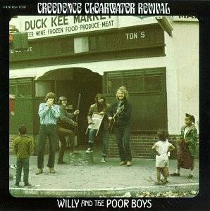 Creedence Clearwater Revival: Willy And The Poor Boys - Cover