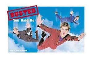 Cover - Busted: You Said No