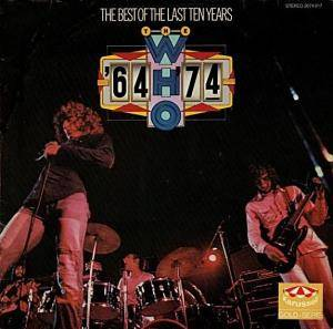 The Who: Best Of The Last Ten Years, The - Cover