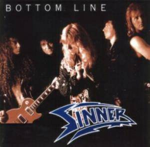 Sinner: Bottom Line - Cover