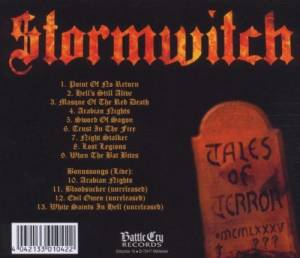 Stormwitch: Tales Of Terror (CD) - Bild 2
