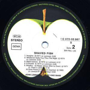John Lennon & Plastic Ono Band: Shaved Fish (LP) - Bild 5