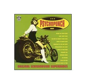 Cover - Psychopunch: Original Scandinavian Superdudes