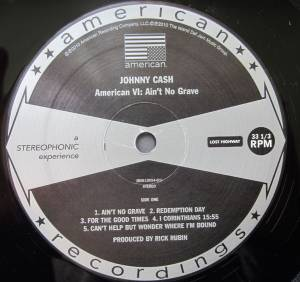 Johnny Cash: American VI: Ain't No Grave (LP) - Bild 3