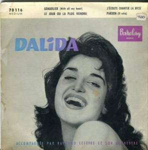 Cover - Dalida: Gondolier (With All My Heart)