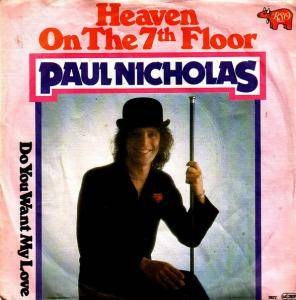 Cover - Paul Nicholas: Heaven On The 7th Floor