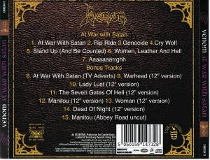 Venom: At War With Satan (CD) - Bild 3