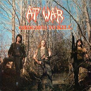 At War: Ordered To Kill - Cover