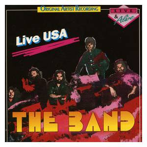 Cover - Band, The: Live USA