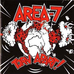 Cover - Area-7: Torn Apart!