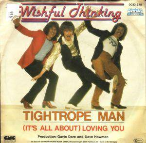 Cover - Wishful Thinking: Tightrope Man