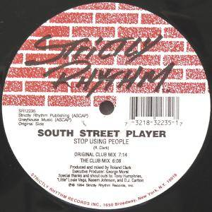 Cover - South Street Player: Stop Using People