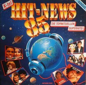Hit News '85 - Die Topaktuellen Superhits - Cover