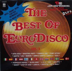 Cover - Mandy: Best Of Eurodisco Vol. 3, The