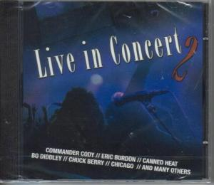 Live In Concert 2 - Cover