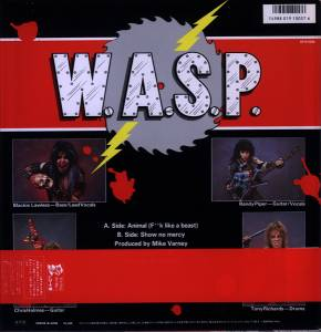 "W.A.S.P.: Animal (F**k Like A Beast) (12"") - Bild 2"