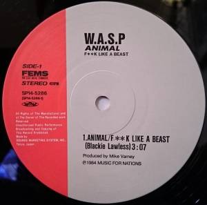 "W.A.S.P.: Animal (F**k Like A Beast) (12"") - Bild 5"